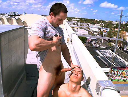 Public blowjob and anal sex